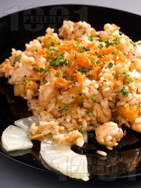 Наси кебули - пиле с ориз и ананас - снимка на рецептата